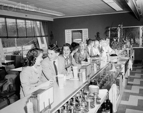 1950s Milk Bar