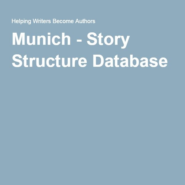 Munich - Story Structure Database