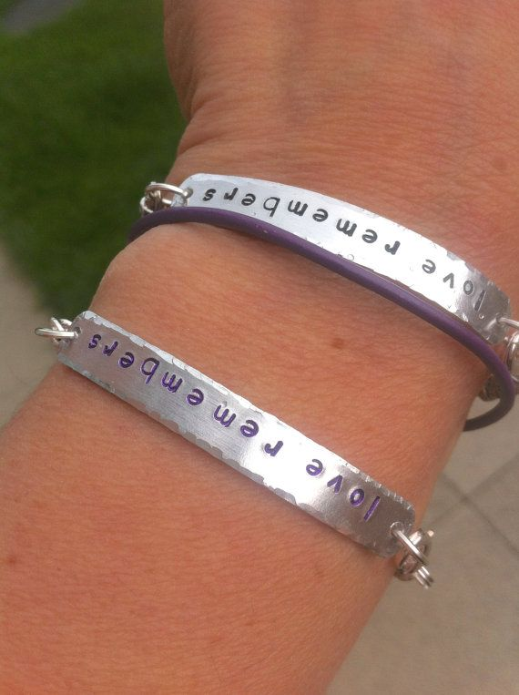Dementia Aware Hand Stamped Love Remembers By Forgetmenotwishes Alzheimer S And Awareness Family
