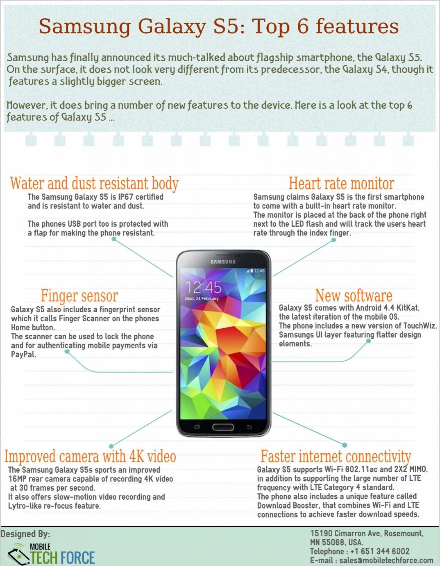 6 Must Know New Features of Samsung Galaxy S5 | Android Apps