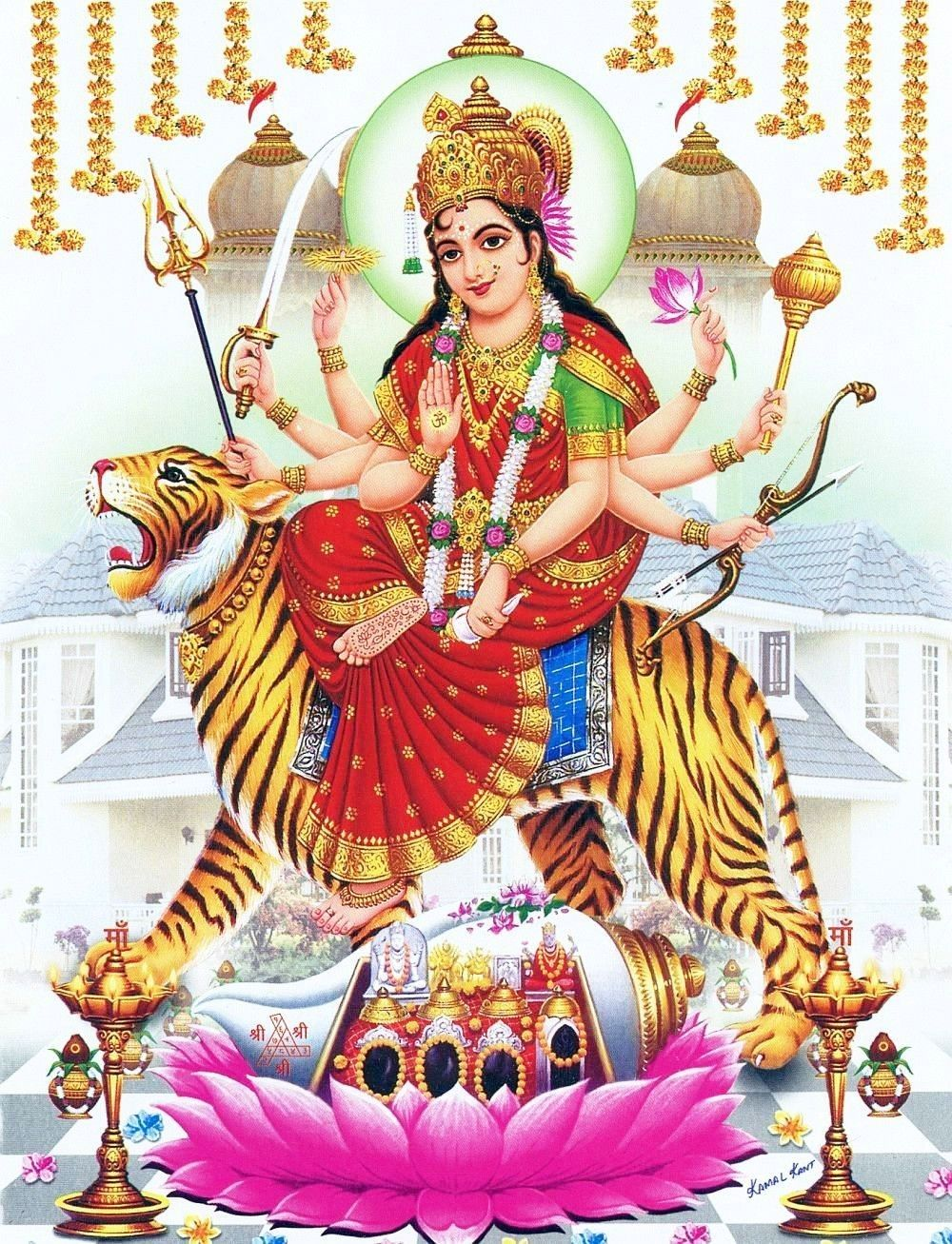 Pin By Yogendra Sharma Wishu On Jai Maa Durge Durga Kali Durga Goddess Navratri Puja