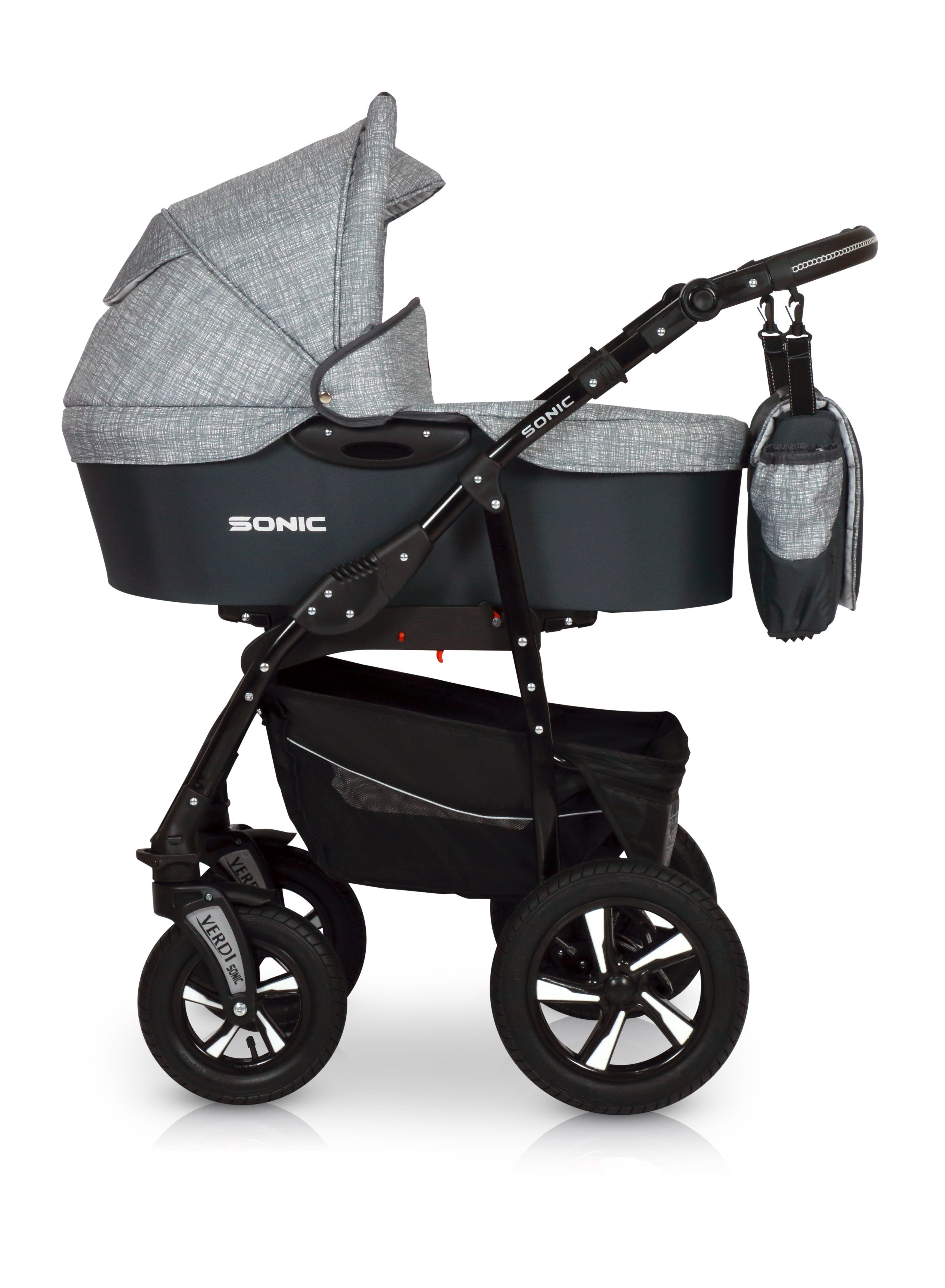 SONIC Comfort Line 3in1 Pram stroller, Car seats, Children