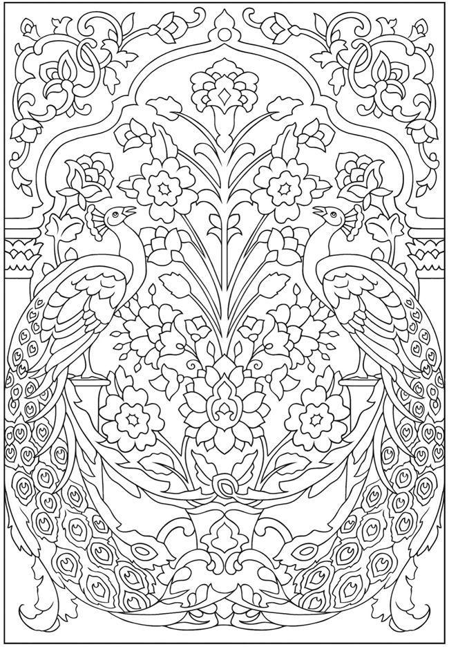 Desenhos para colorir e desestressar baixe e imprima a mãe coruja