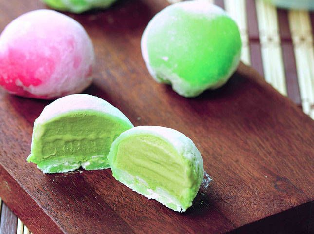 Make these sweet ice cream wrapped in pillow-soft dough frozen treats at home!