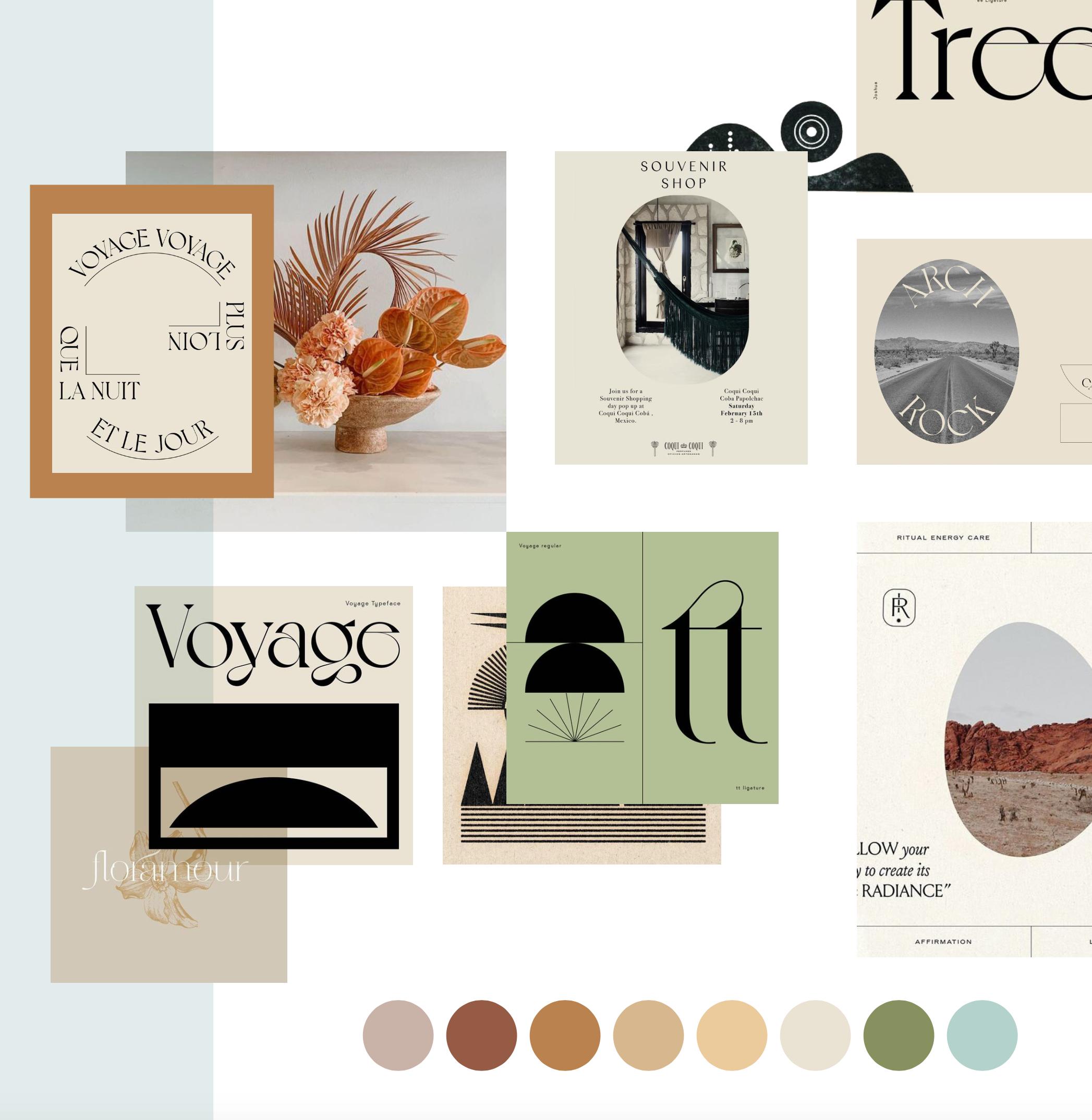 Melissa Harans Graphic Design Graphic Design Layouts Layout Design Inspiration Boho Logo