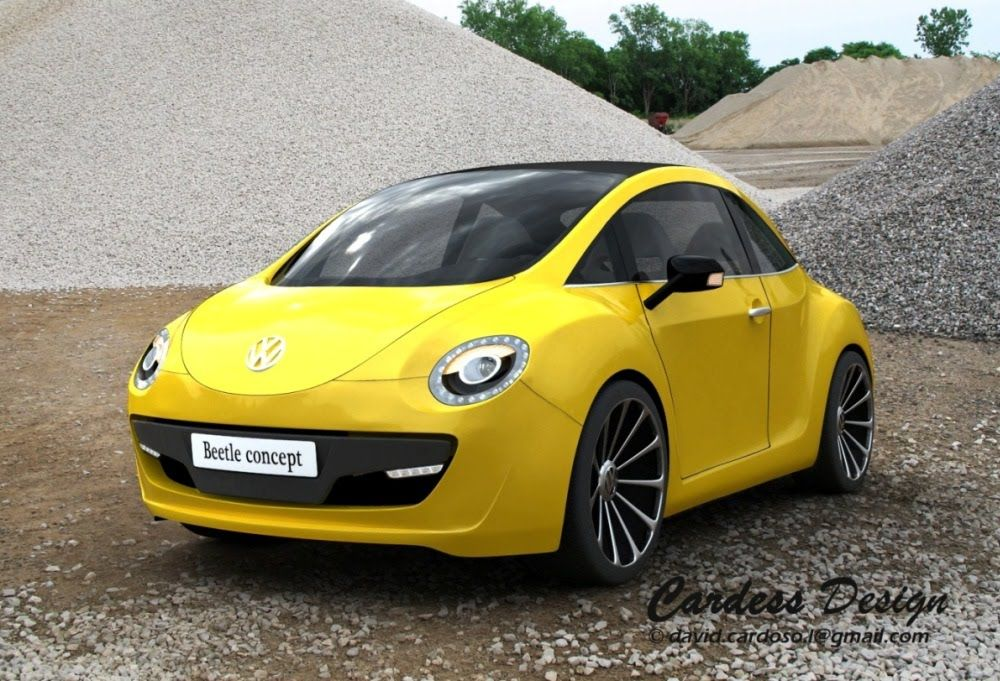 Volswagen Beetle Design Proposal For Next Generation Vw