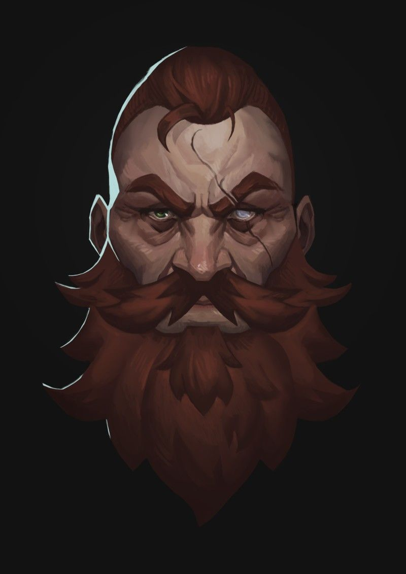 Pin by Chad Canova on NPC | Beard drawing, Fantasy dwarf ...