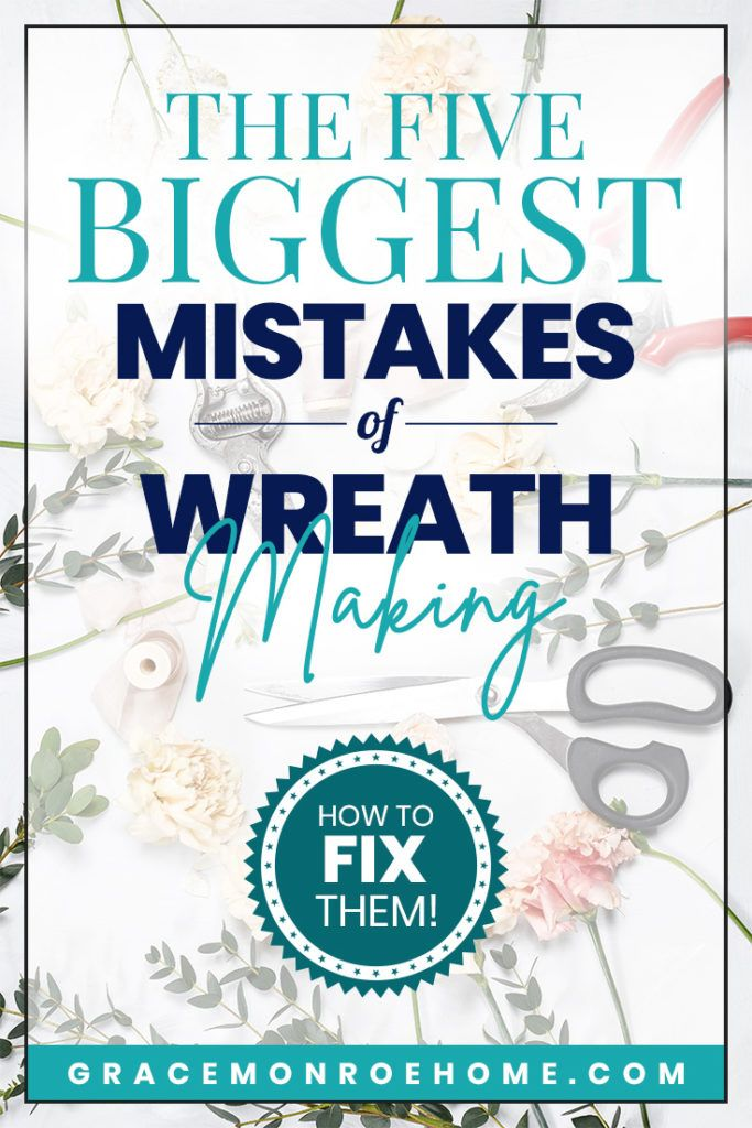 Photo of The FIVE Biggest Mistakes Wreath Makers Don't Know They're Making