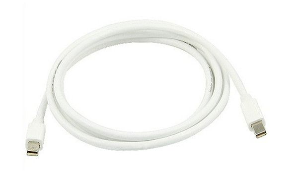 Mini DisplayPort Male to Mini DisplayPort Male Cable http://www.trenatics.com/collections/all-products/products/mini-displayport-male-to-mini-displayport-male-cable Free Singapore local non-registered mail for all purchases made via our website www.trenatics.com