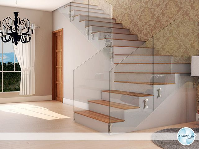 Tipos de escadas decoradas e cheias de estilo tipos - Paredes decoradas modernas ...