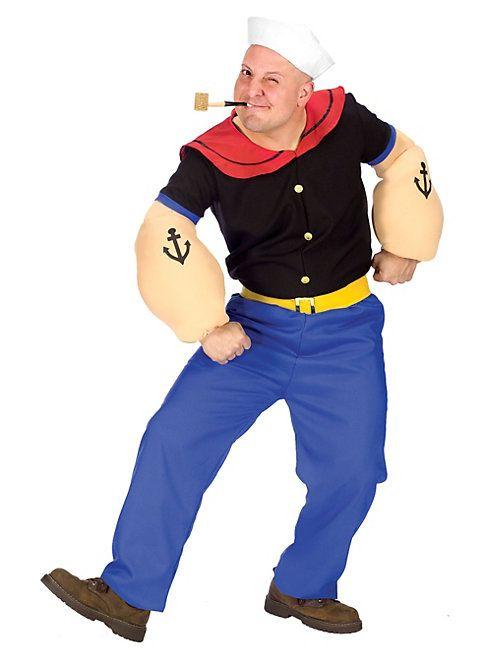 Original Popeye Kostum Von Maskworld Com Karneval Fasching Popeye