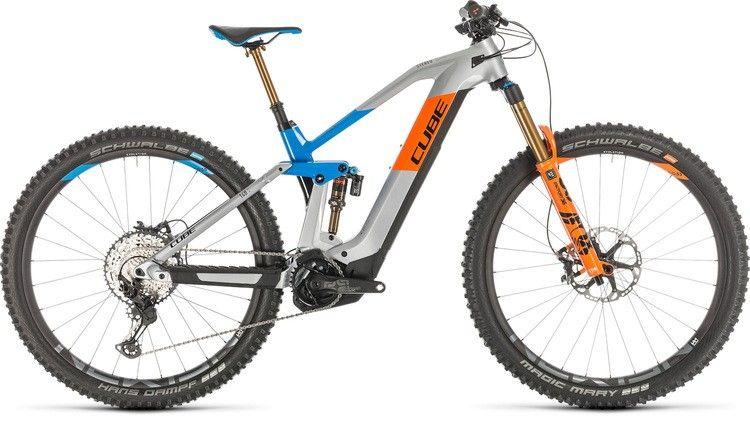 Cube Stereo Hybrid 140 Hpc Action Team Electric Mountain Bike Ebike Bike