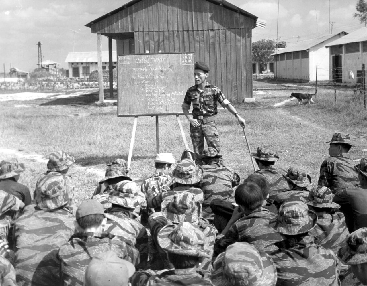 Cidg unit training vietnam war vietnam south vietnam