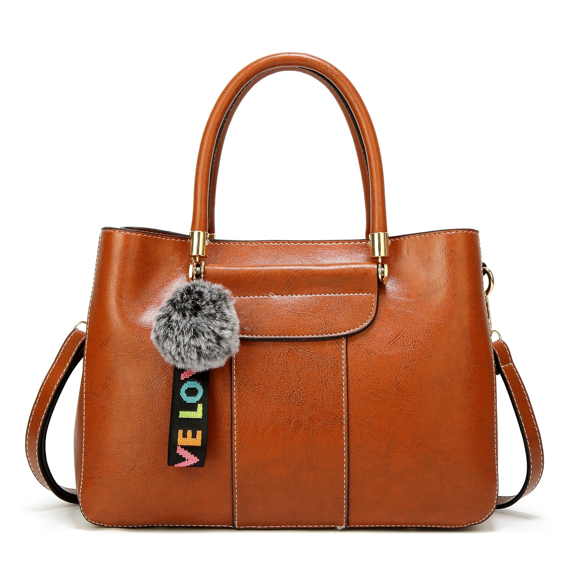 7d8c9057d0bf best selling elegant office ladies handbag tote bag with bottom studs high  PU quality bags FS6262