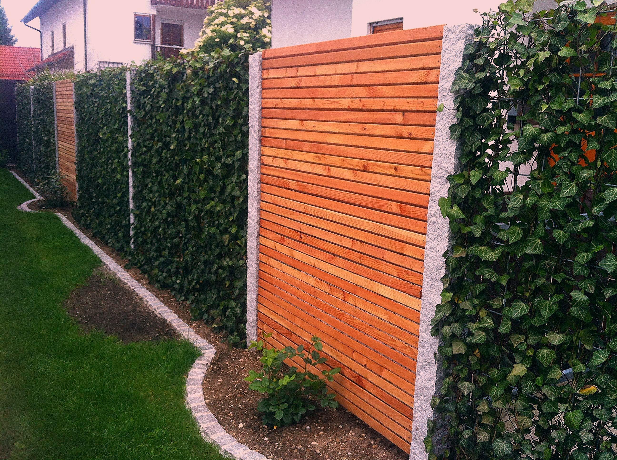 Baustelle von Garten Bronder Hecke am laufenden Meter® / Mobilane Fertighecke... - My Blog