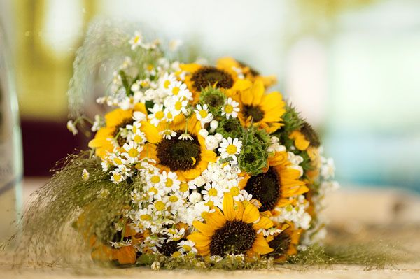 Matrimonio Country Chic Girasoli : Matrimonio country chic con girasoli e limoni bouquet
