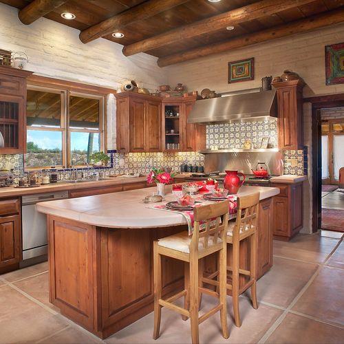 Fotos de cocinas dise os de cocinas comedor r sticas mexican talavera quince a os pinterest - Disenos de cocinas rusticas ...