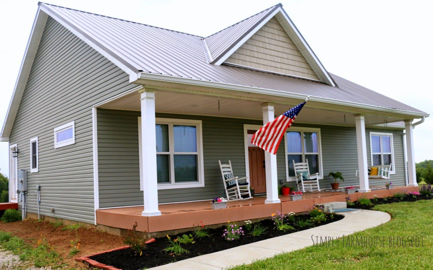 Simply Farmhouse: Our House Plan | New House in 2019 ...