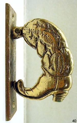 Cowboy Boot Door Knocker