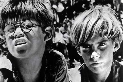 """Piggy and Ralph- """"Lord of the Flies"""""""