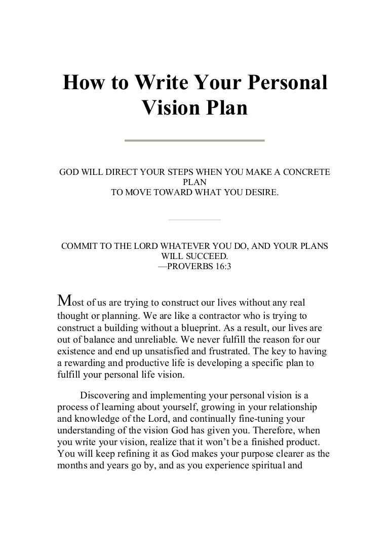 Examples Of Christian Mission Statements in 2020 Vision