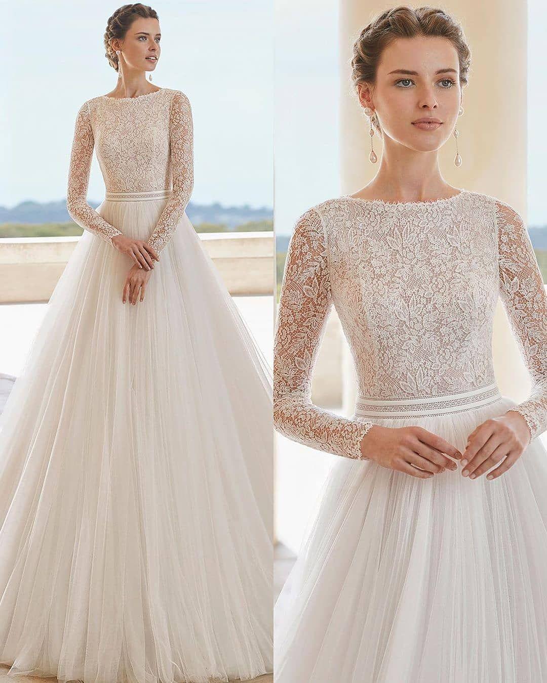 My World Of Dresses On Instagram Dreamy Gowns 1 10 Rosa Clara Brides Bridal Weddings Wedd In 2020 Wedding Dresses Dresses Wedding Dress Accessories