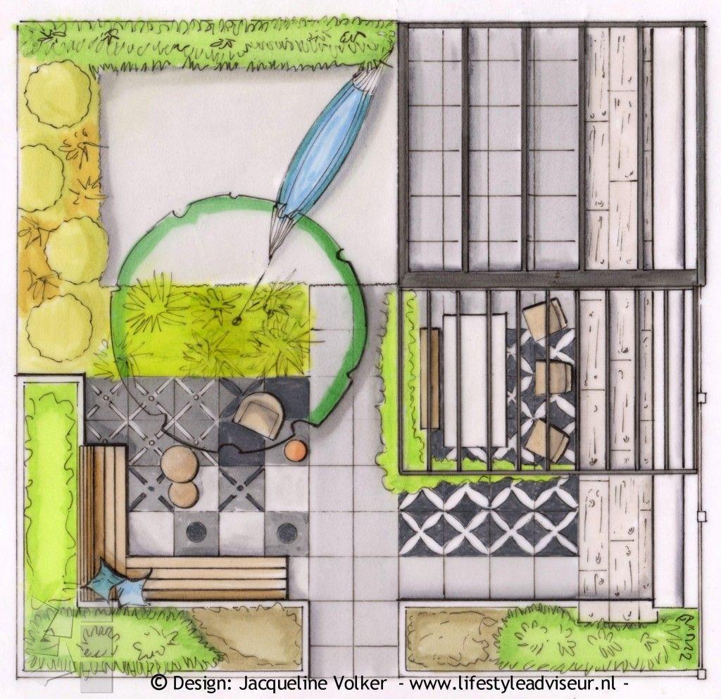 Plattegrond voor home en garden def met logo tuin for Tuinontwerp tips