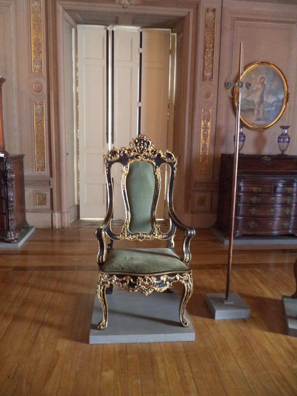 Imperial Senate s Throne of Pedro II of Brazil