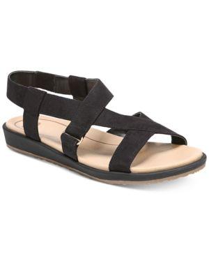 Dr. Scholl's Preview Sandals Black 7.5M | Chanclas