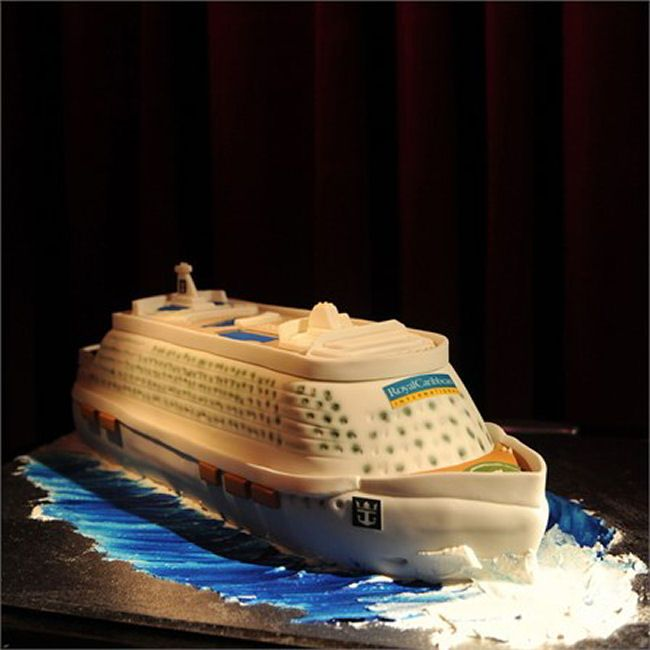 ship wedding cake wedding cake shaped like a cruise ship from unique real 19781