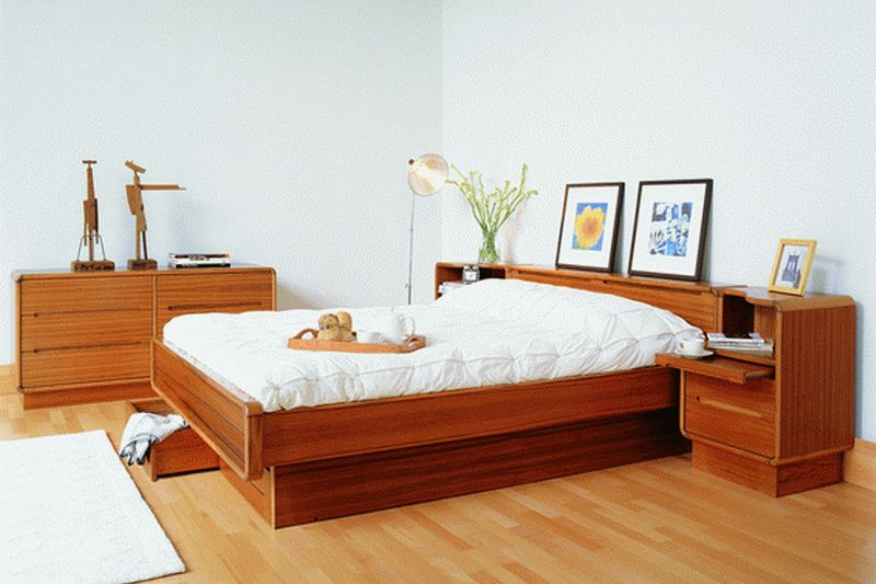 Scandinavian Bedroom By Sun Cabinet 81 Teak Bedroom Contemporary Bedroom Furniture Scandinavian Design Bedroom