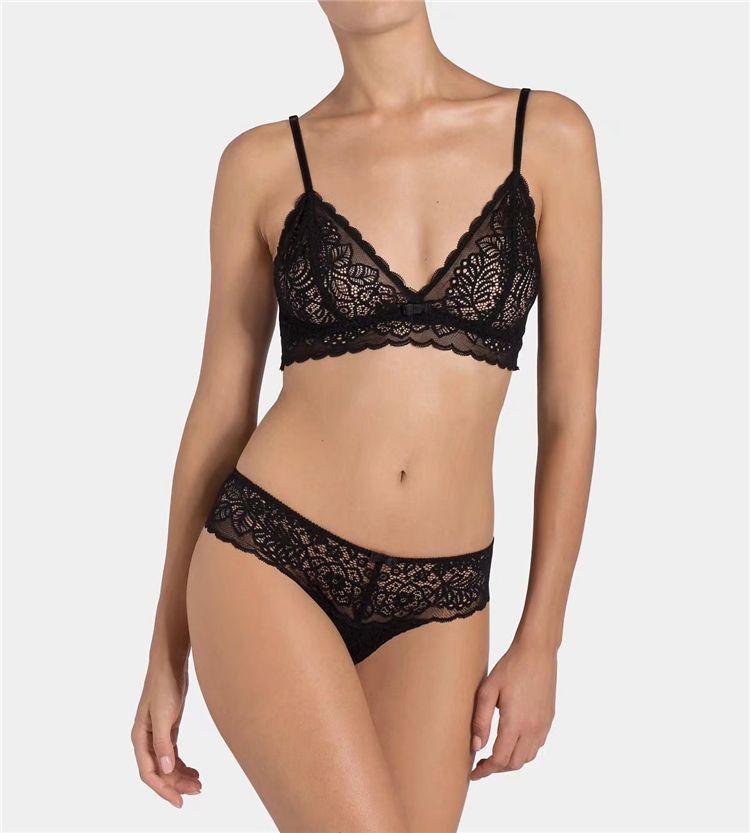 fcc06b78466 CINOON Lace Sexy Women Bra Set Transparent Lingerie 2018 new sexy push up women's  underwear breathable comfortable bra set