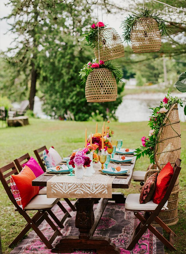 Bold Bright 70s Themed Bridal Shower Bridal Showers By Inspired