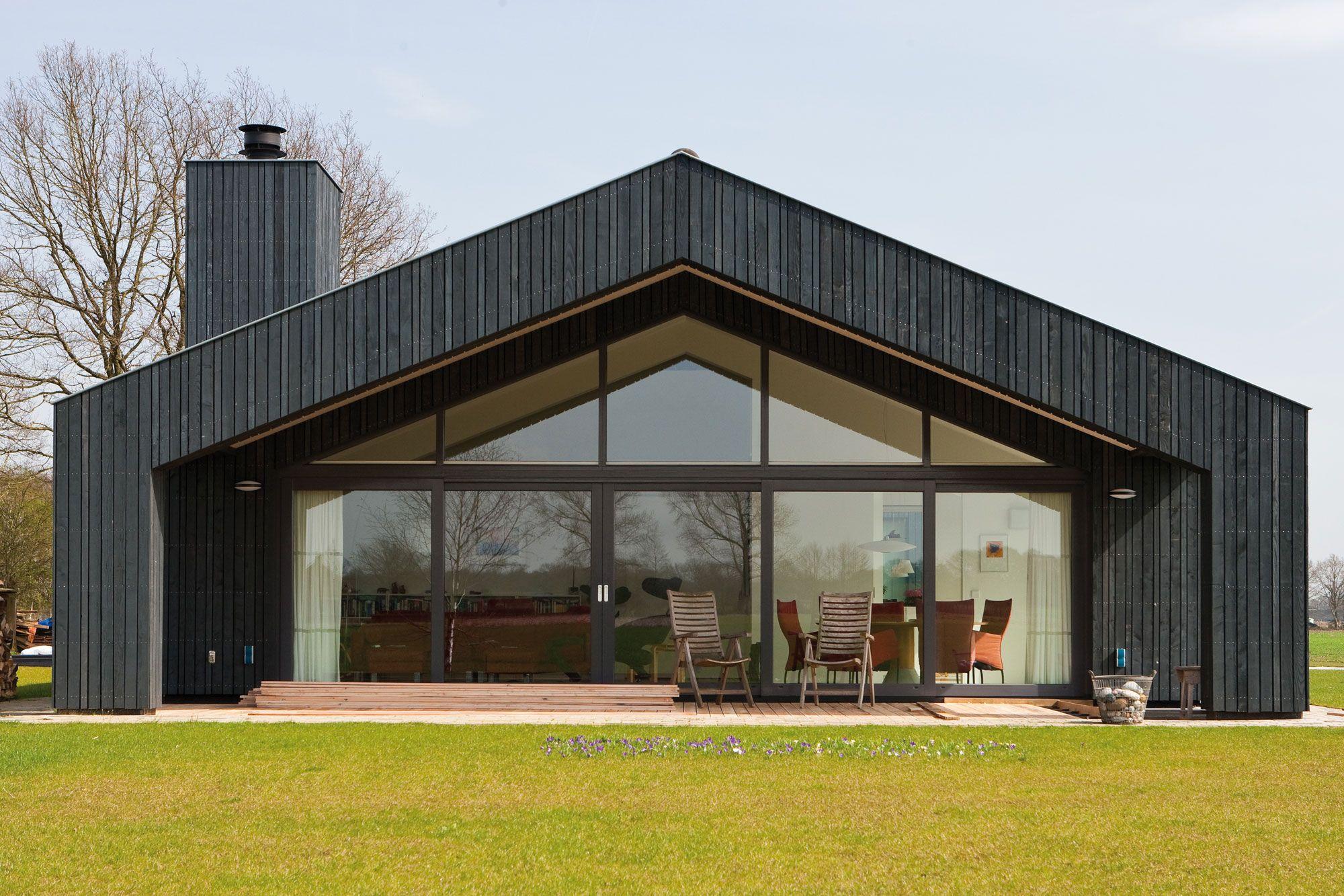 Schuurwoning bouwen kavel en huisje pinterest for Kostprijs woning bouwen