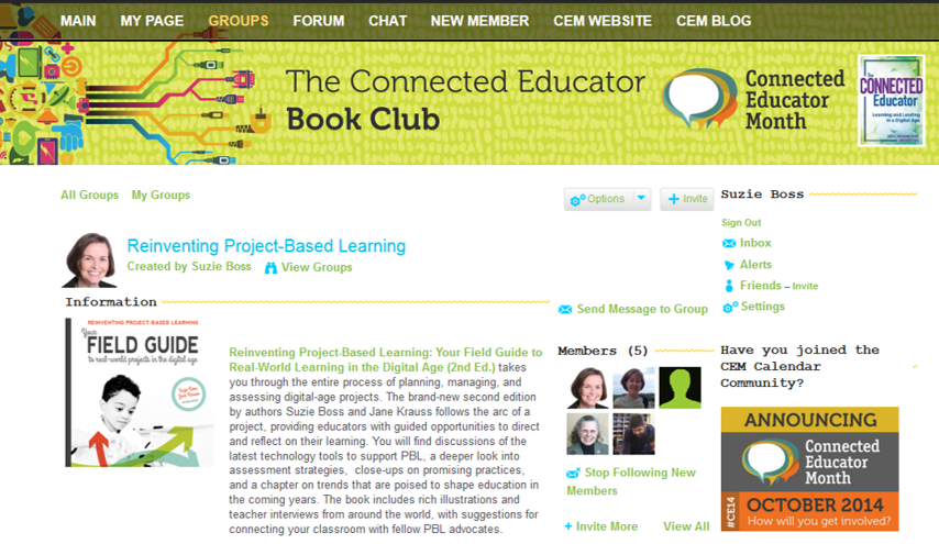 Reinventing Project-Based Learning: Join the Reinventing PBL Book Club