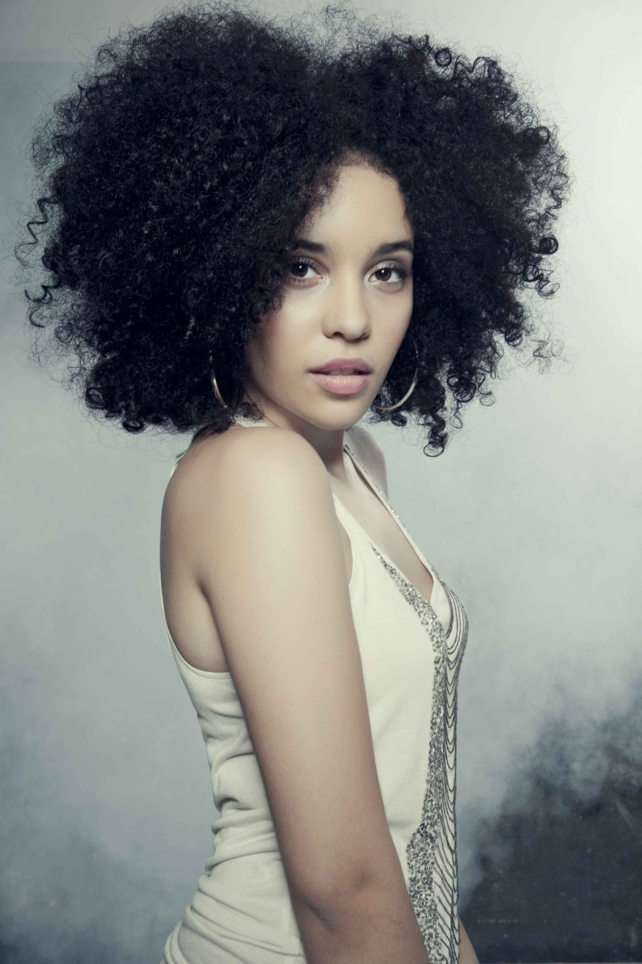 The Best of both worlds Curly hair styles naturally