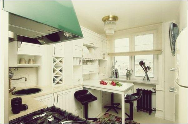 Ausziehbare Küchentische - ideal für kleine Wohnungen #kuchentisch