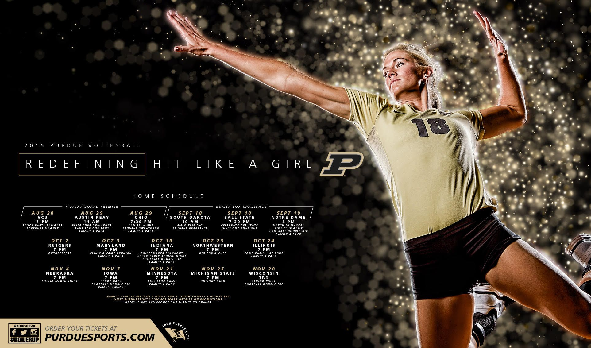Posterswag Com Top 30 Ncaa Volleyball Schedule Posters Smsports Sportsbiz Team Photography Volleyball Sports Design Inspiration