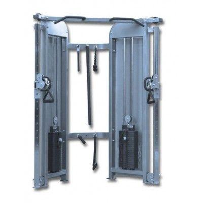 SPK053 DUAL CABLE PULLEY    Teknik Özellikler Ürün Ebatları (cm) : 110 x 166 x 212 Boya : Elektro Statik Fırın Boya Ağırlığı : 345 kg. Ürün Bilgileri Çalışan Kaslar : Biceps,Triceps,Gluteus,Trapezius Genel Şartlar : Garanti Süresi : Metal aksam 2 Yıl Döşeme 1 Yıl