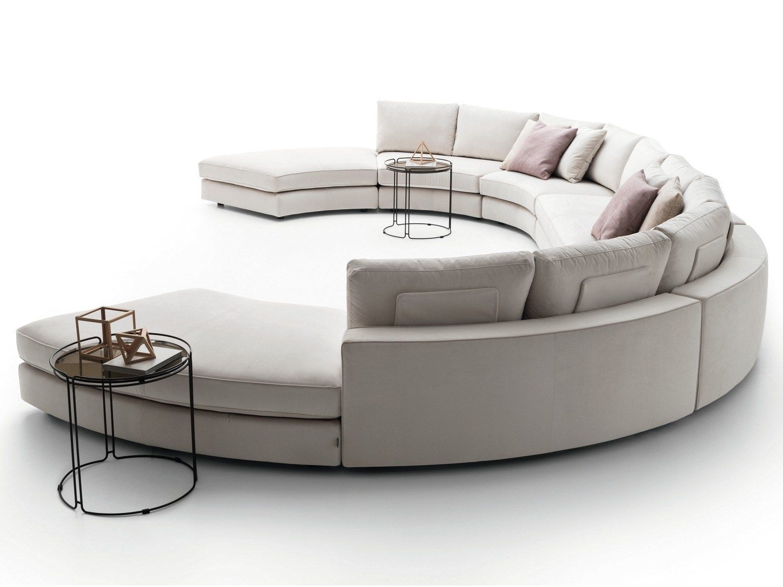 Loman Curved Sofa By Ditre Italia Design Stefano Spessotto