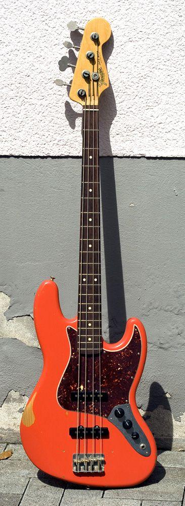 '04 Fender Jazz Bass - Fiesta Red