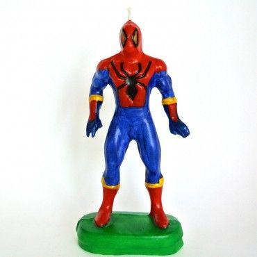 Vela Spider Man - Artículos de Fiesta