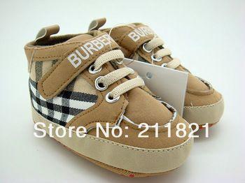 Sanfu - B008 niña kakhi cuadros primeros caminante zapatos zapatilla de casa y niños pequeños zapatos de los niños tamaño 2 3 4 en el envío libre EE.UU.
