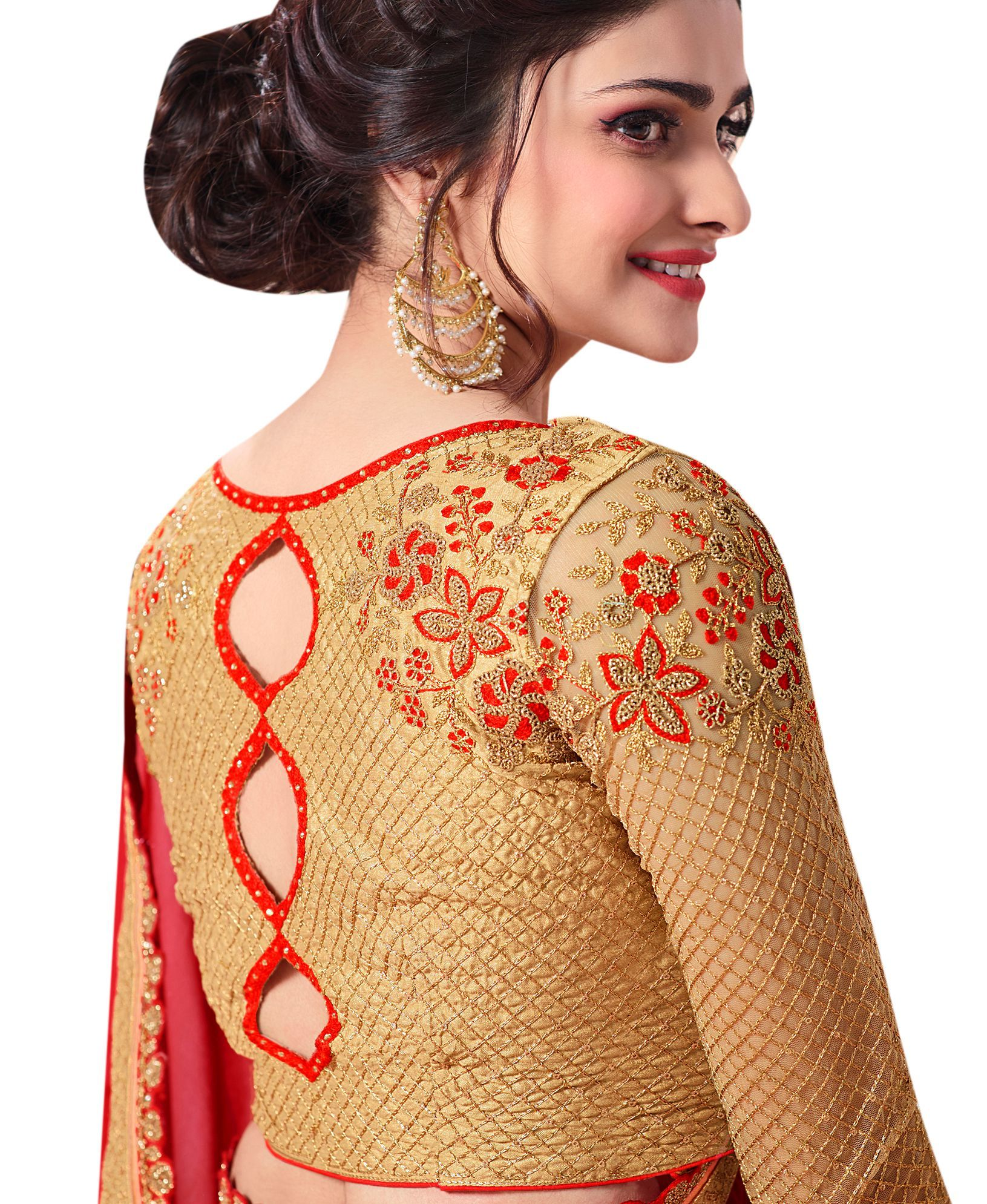Awesome blouse design