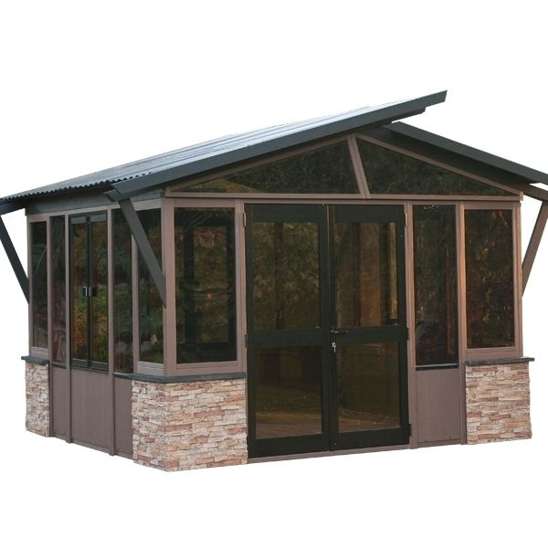 Pavillons de jardin 11 39 x 14 39 mont orford abris for Bellagio gazebo club piscine