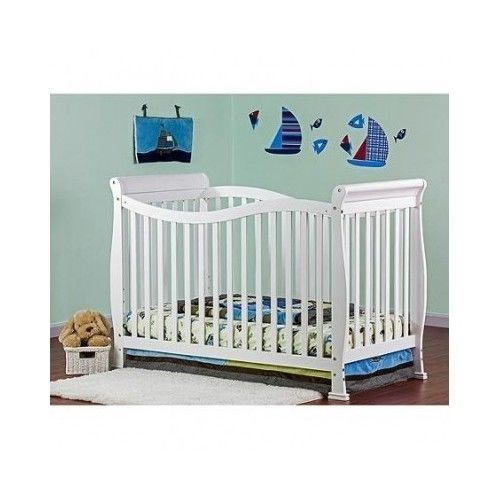 Convertible Crib 7 in 1 White by Dream on Me Home Baby Toddler Child Nursery #DreamOnMe