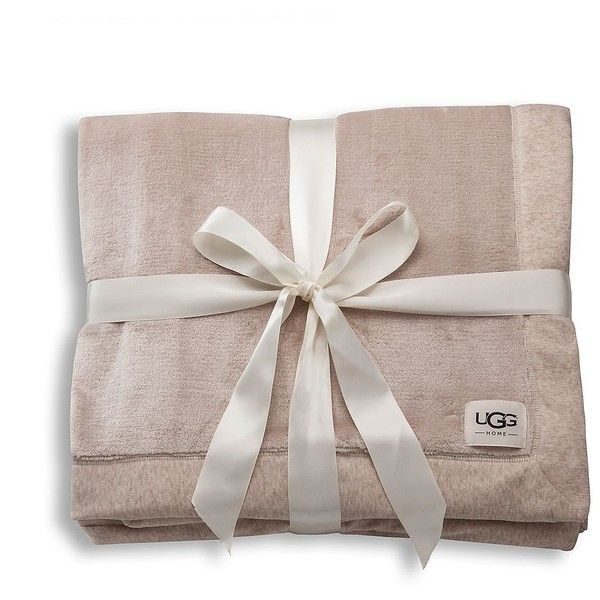 Ugg Throw Blanket Pleasing Ugg Australia Duffield Throw Blanket $98 ❤ Liked On Polyvore Design Ideas