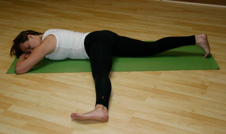 Knee Bone Connected To The Pf Bone Nutritious Movement Inner Thigh Workout Inner Thigh Stretches Hip Flexor