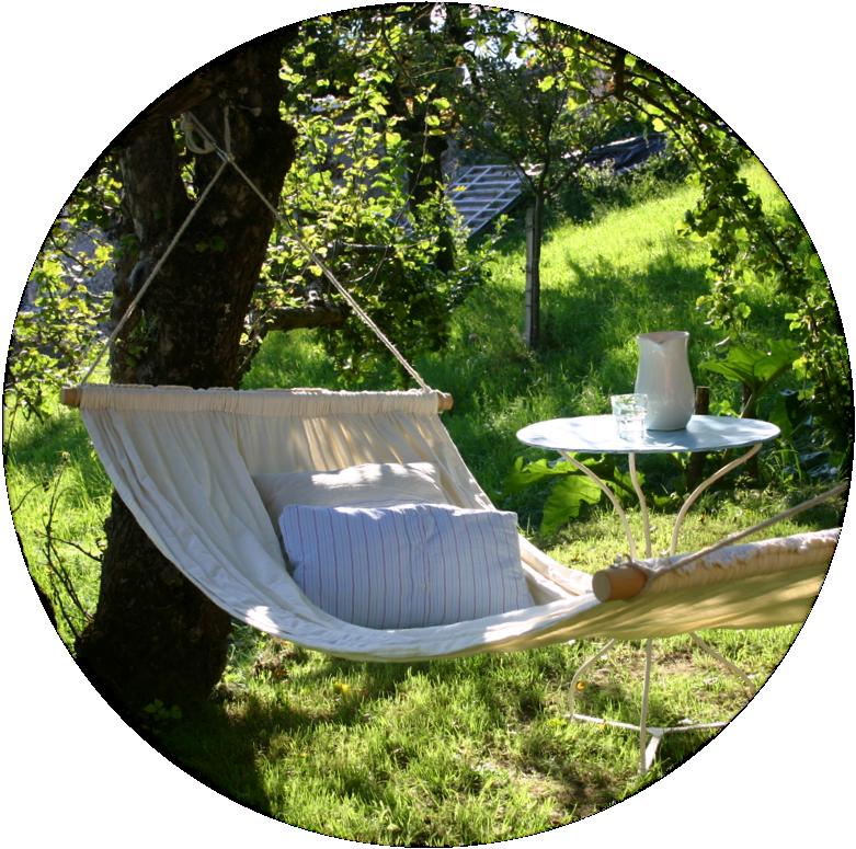 Garten Hängematte: Aus Zwei Leintüchern In Einfachen Schritten Eine Bequeme