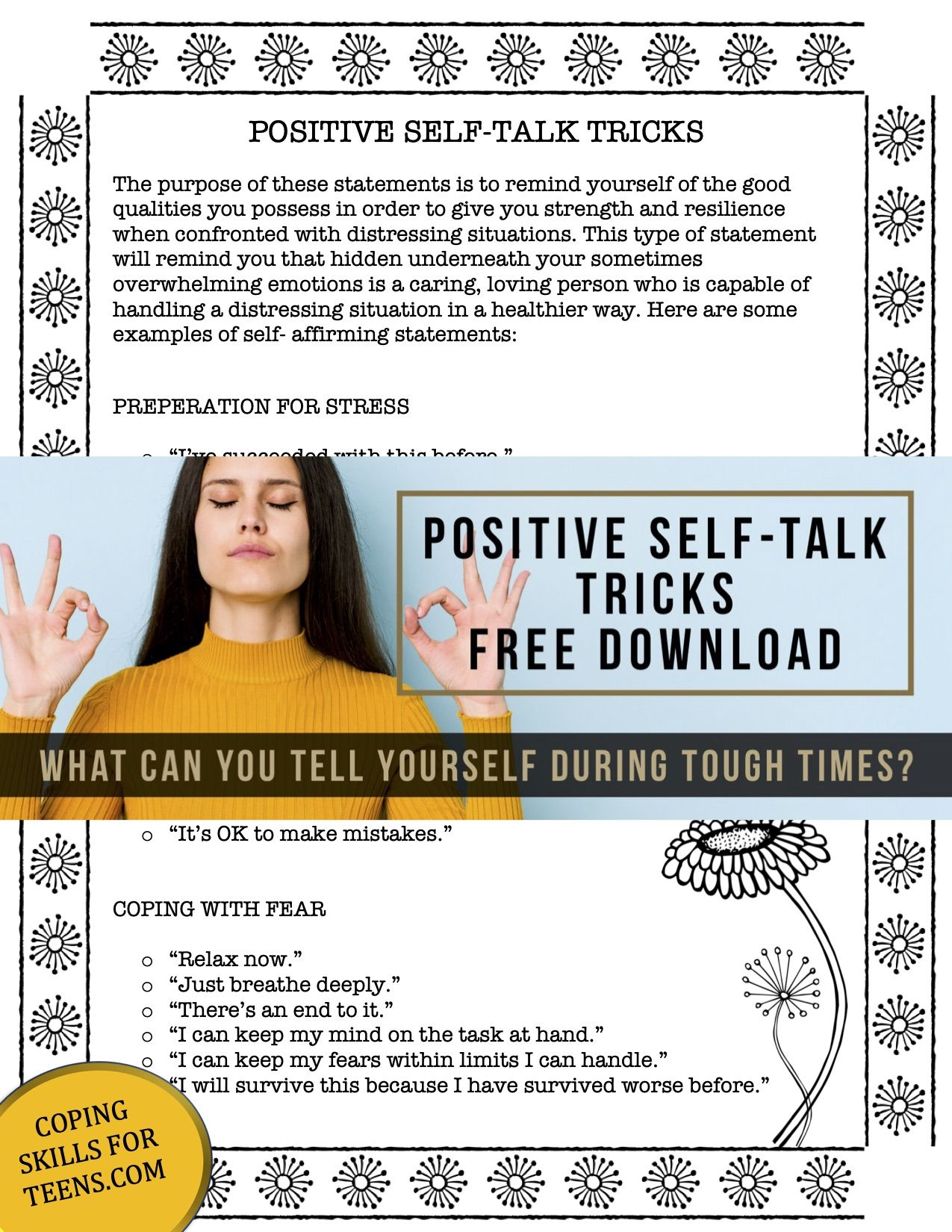 Pin On Coping Skills For Teens